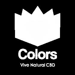 LOGO COLORS VIVE NATURAL CBD BLANCO